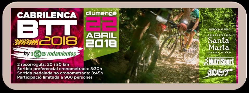 Cabrilenca 2018 by ISB Sport