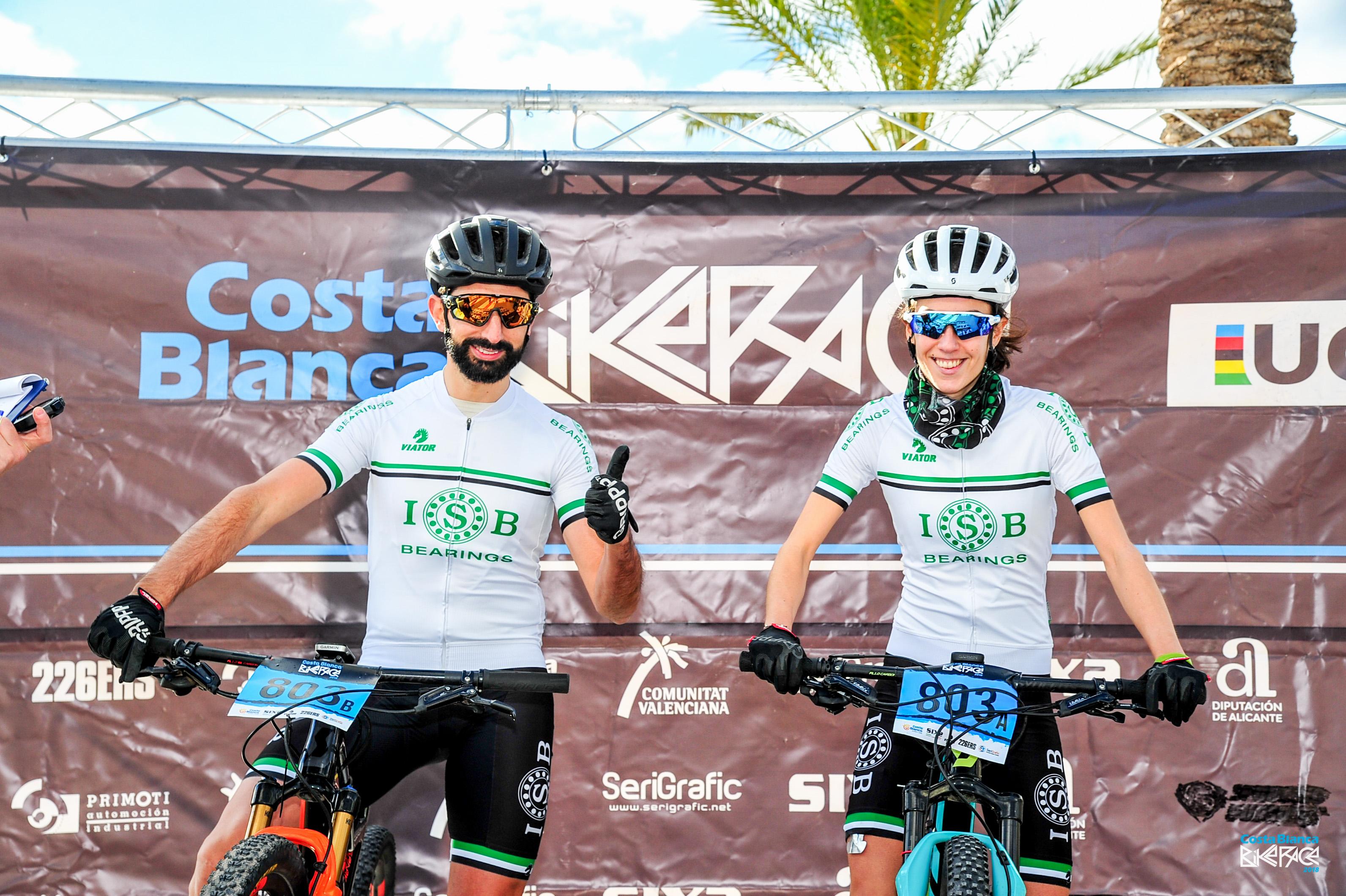 Rodamientos para bicicleta ISB Team en Costa Blanca Bike Race (1)