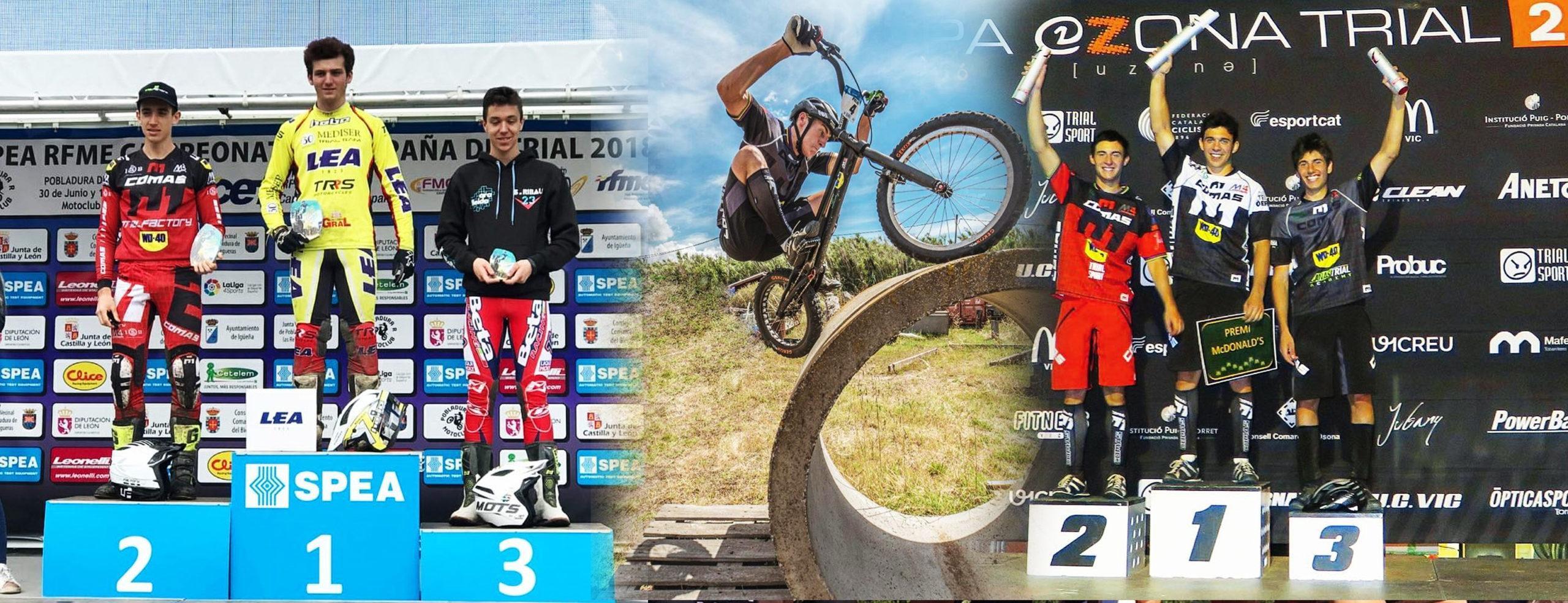 Team Comas Trial bike y moto isb sport