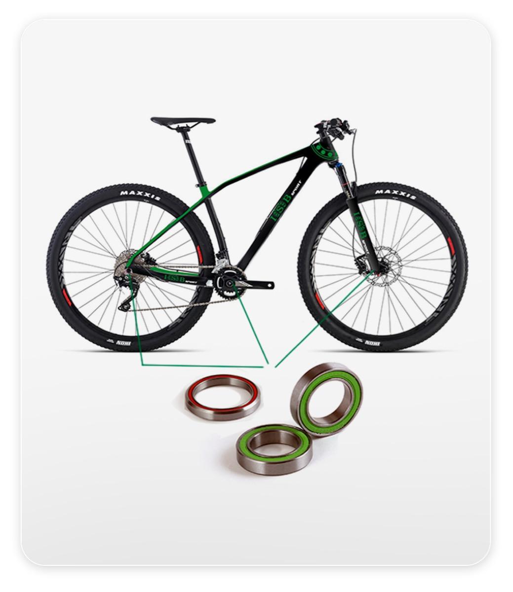 Rodamientos para bicicleta
