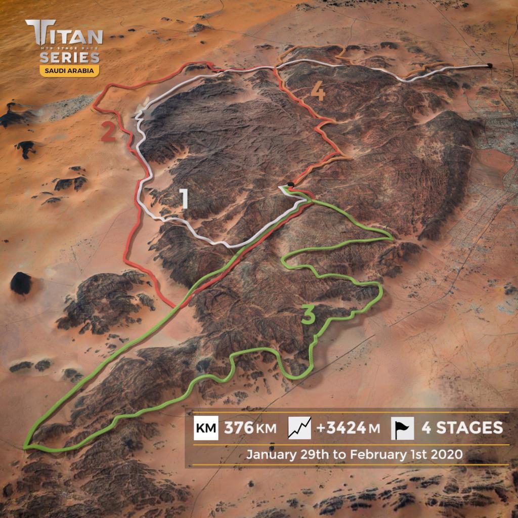 Titan series arabia isb sport