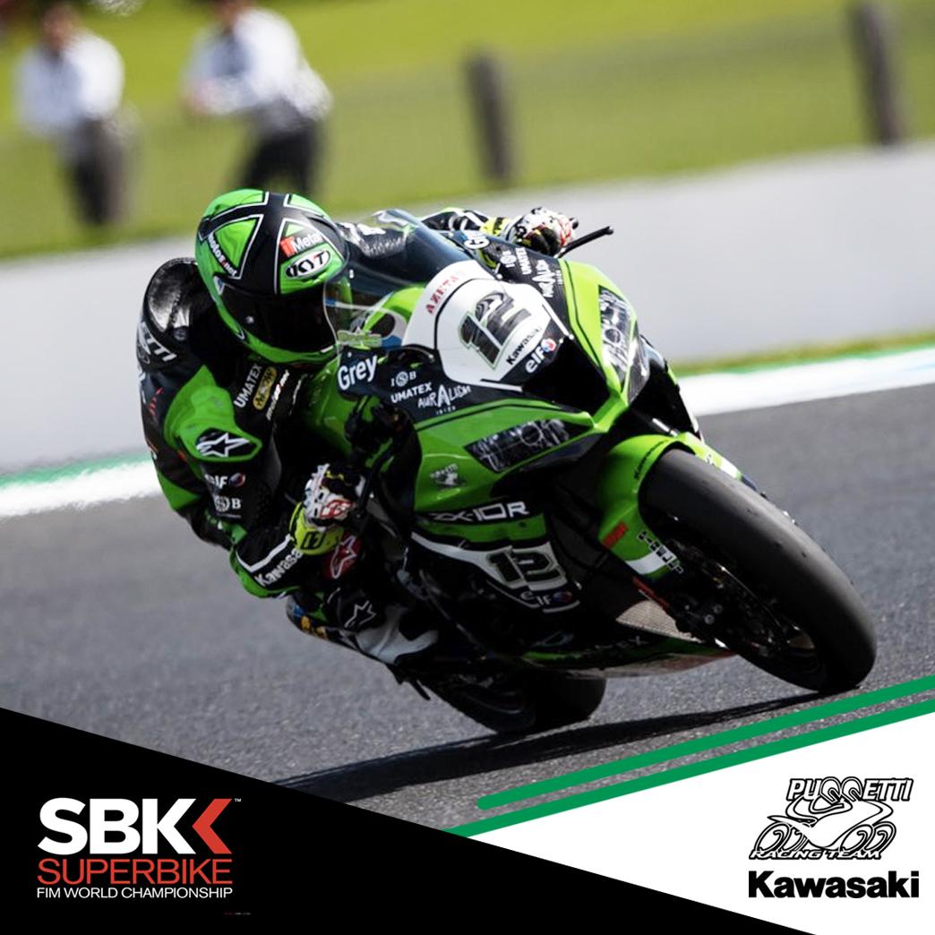 ISB Kawasaki puccetti racing