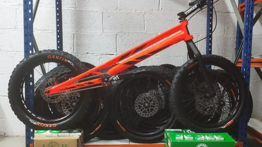ISB Sport Comas Trial Bici