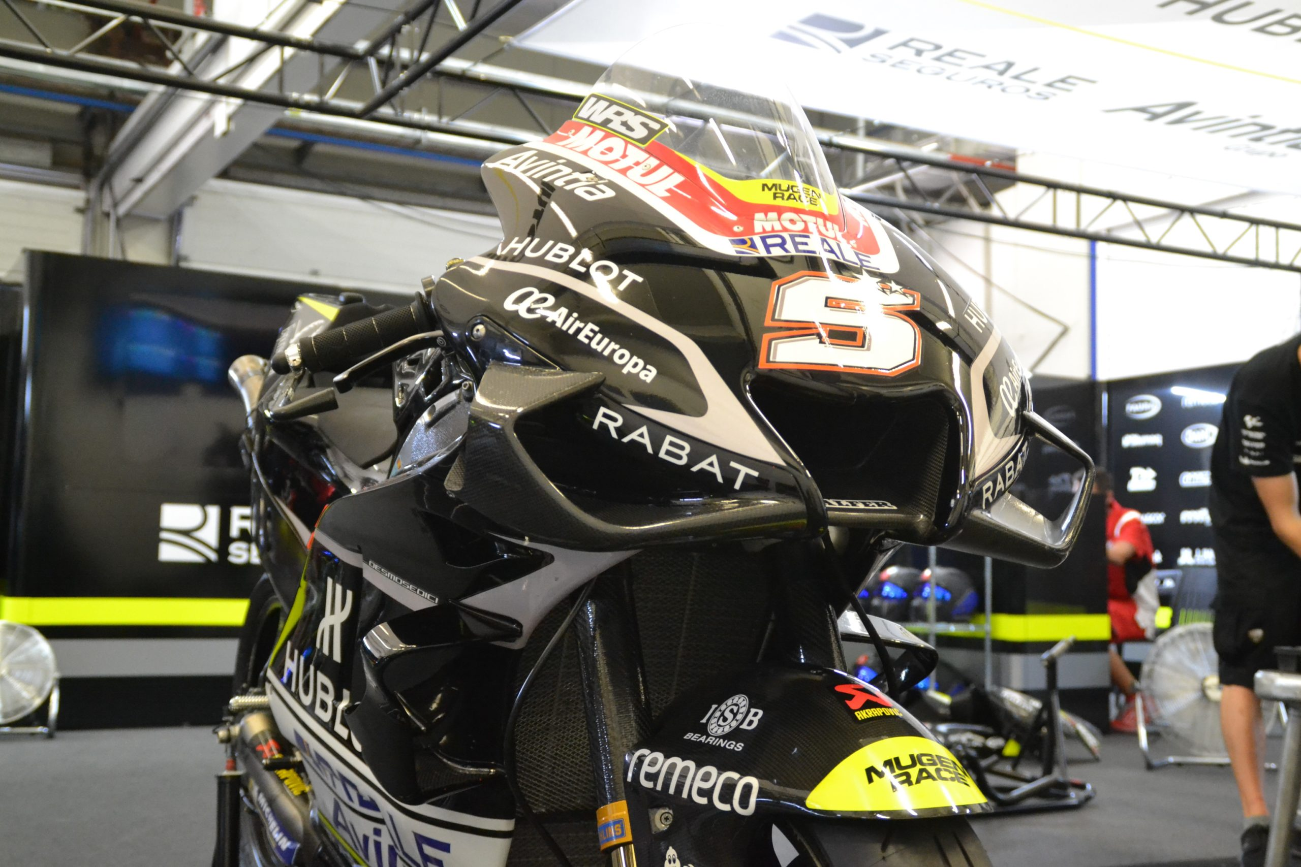 ISB Spot Moto GP Reale Avintia 4