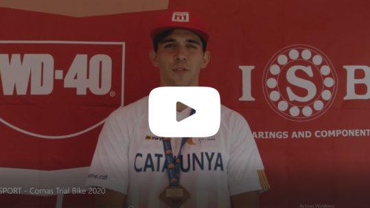 Campeonato Catalunya Trial 2020 ISB Sport Comas Trial