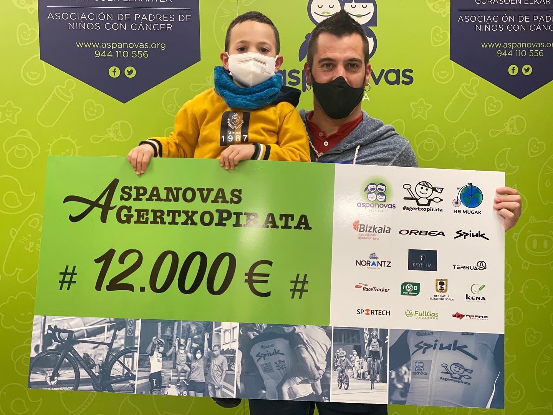 AGERTXOPIRATA y ISB Sport recaudan 12000€ para Aspanovas
