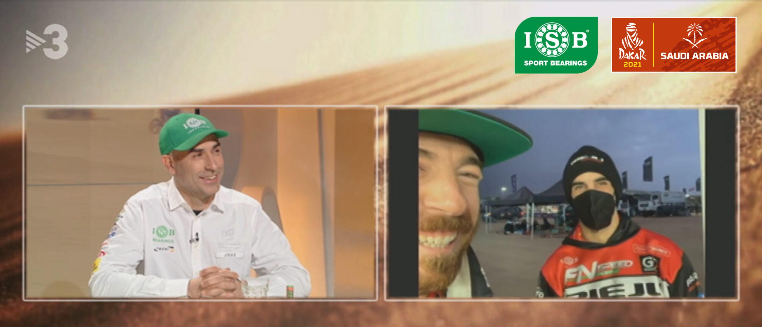 ISB Sport Joan Tavi Dakar TV3
