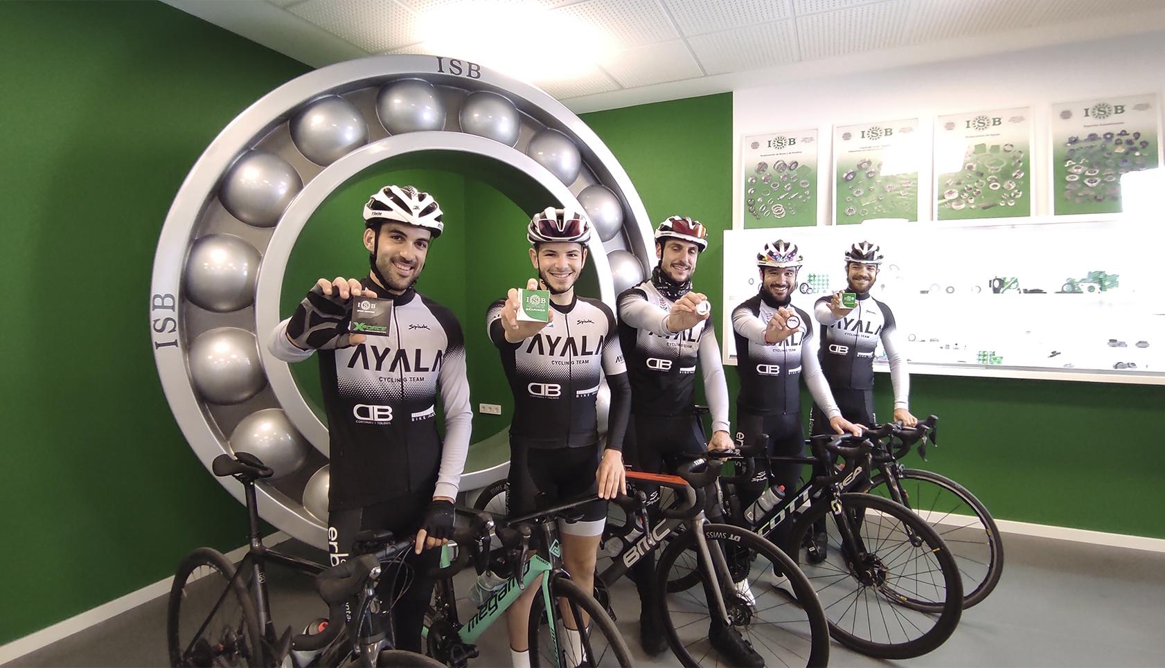 Club ciclista Ayala Cycling Team ISB Sport 2