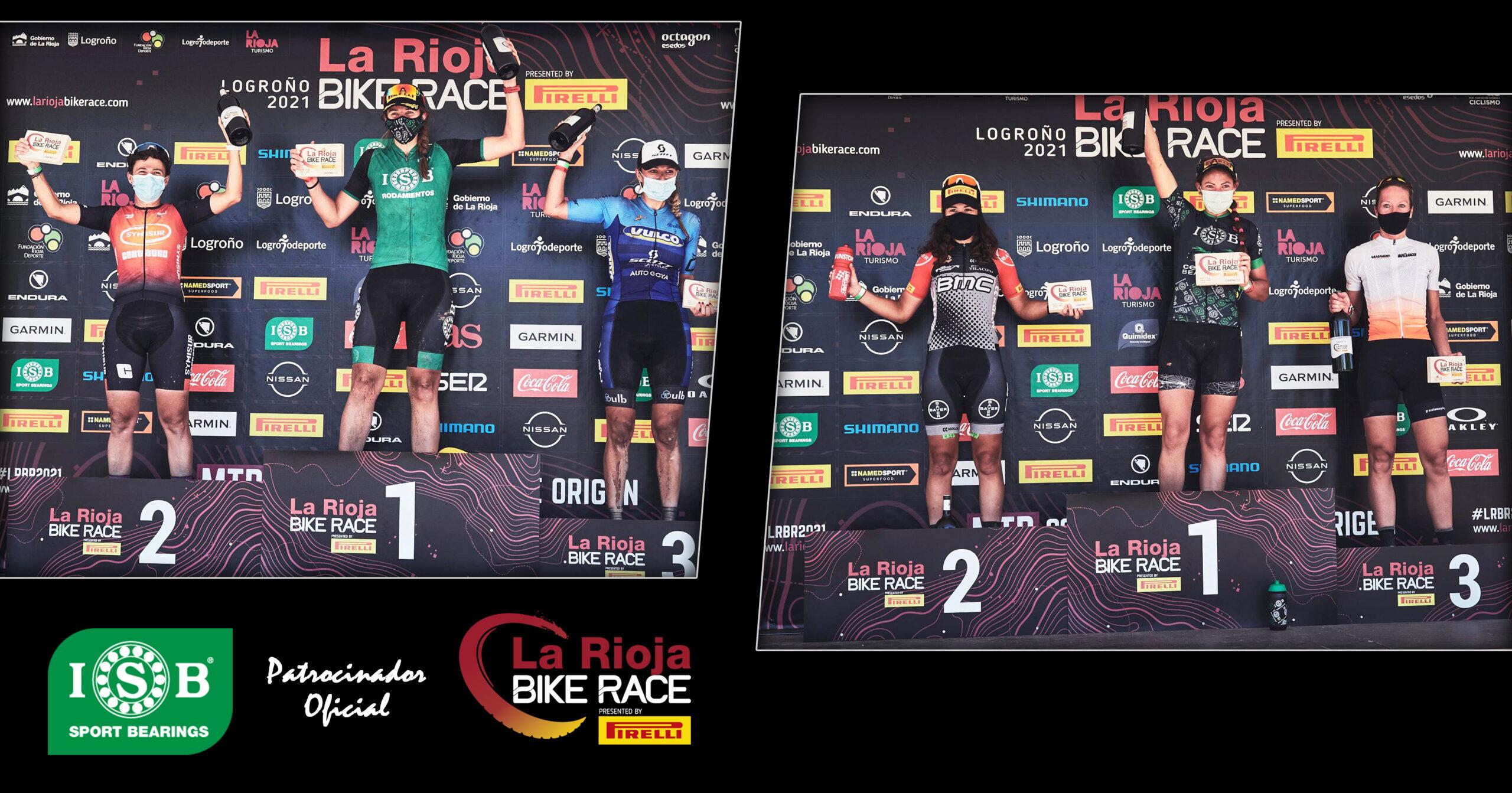 Podiums ISB Sport Rioja Bike Race