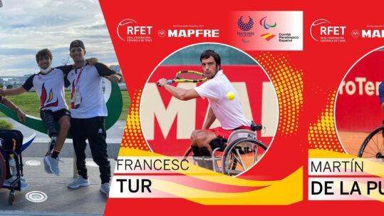 Juegos Paralímpicos - Martin y Quico Tur